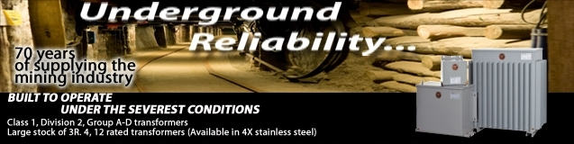 Underground Reliability RET/RES - Epoxy Potted Class 1 Division 2